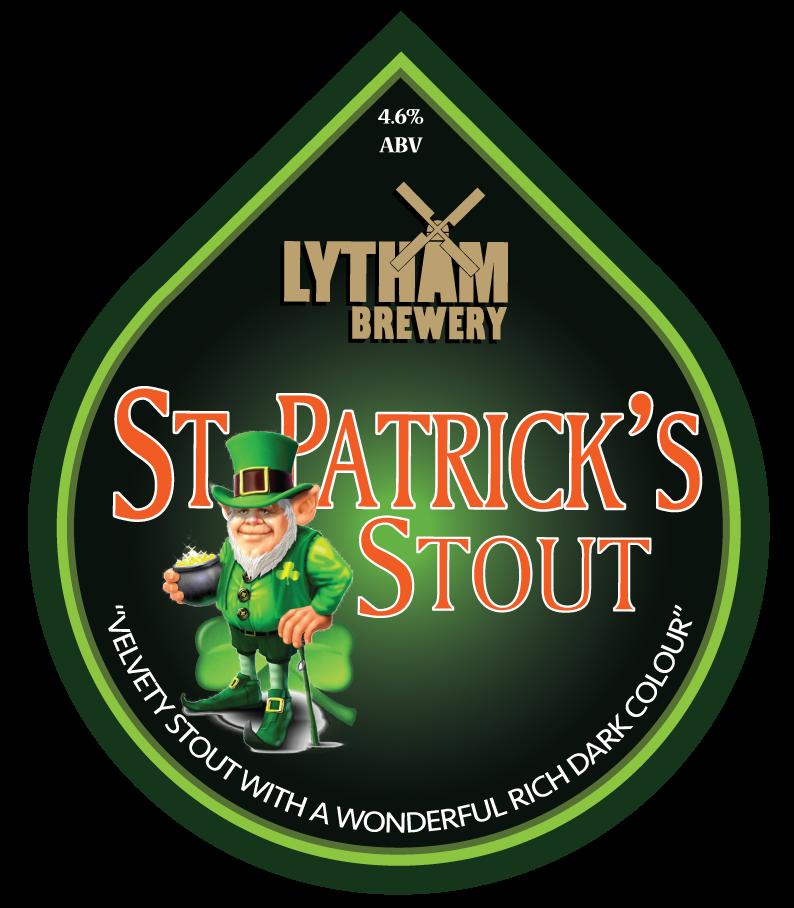St Patricks Stout 4.6%