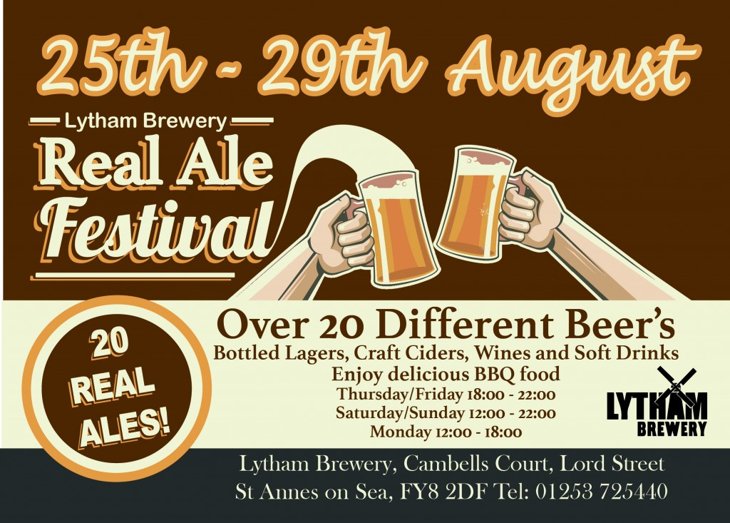 Lytham Brewery open day