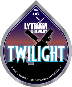 Twilight 4.0% - Lytham Brewery Pump Clip
